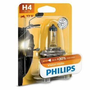 Philips Vision Moto H4 Motorbike Headlight Bulb bd